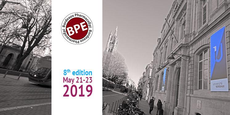 Bordeaux PharmacoEpi Festival 2019