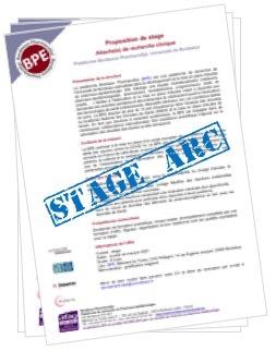 Offre de stage ARC